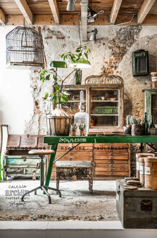 Tienda de jardiner a con encanto industrial negocios bonitos for Decoracion retro industrial