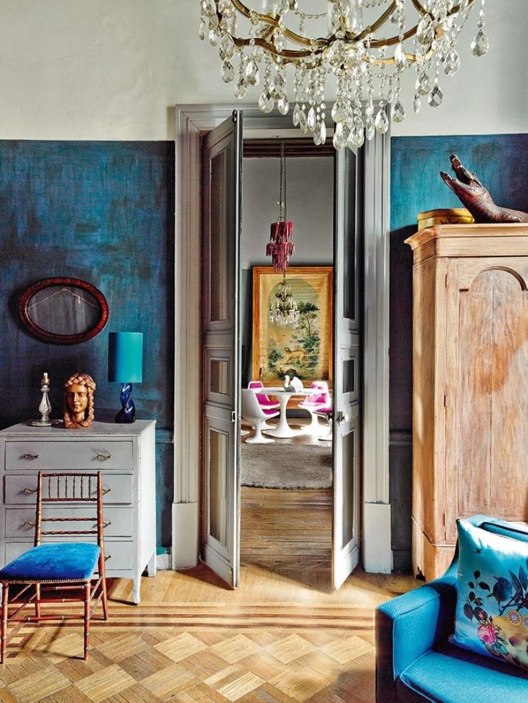 Una decoraci n ecl ctica y con mucho car cter lugares con alma - Decoracion de interiores cursos ...