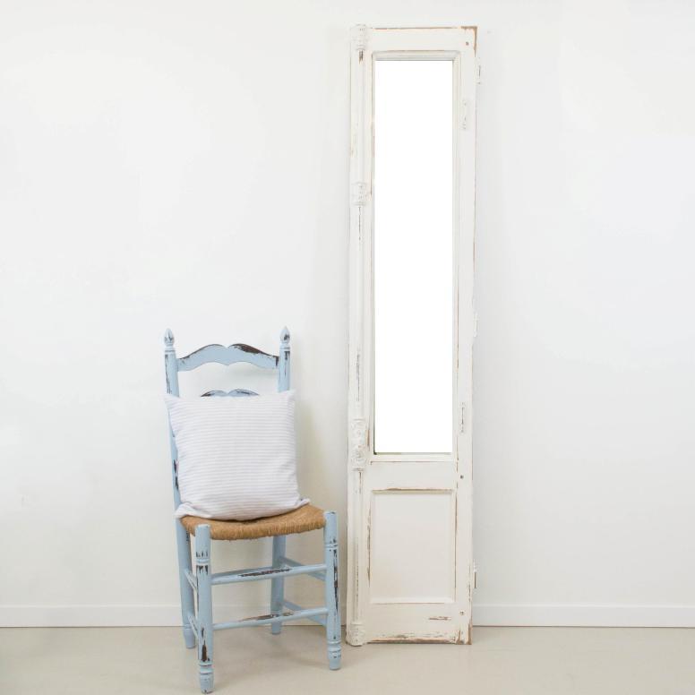 C mo hacer un espejo a partir de una puerta balconera o - Como hacer puertas de armario ...
