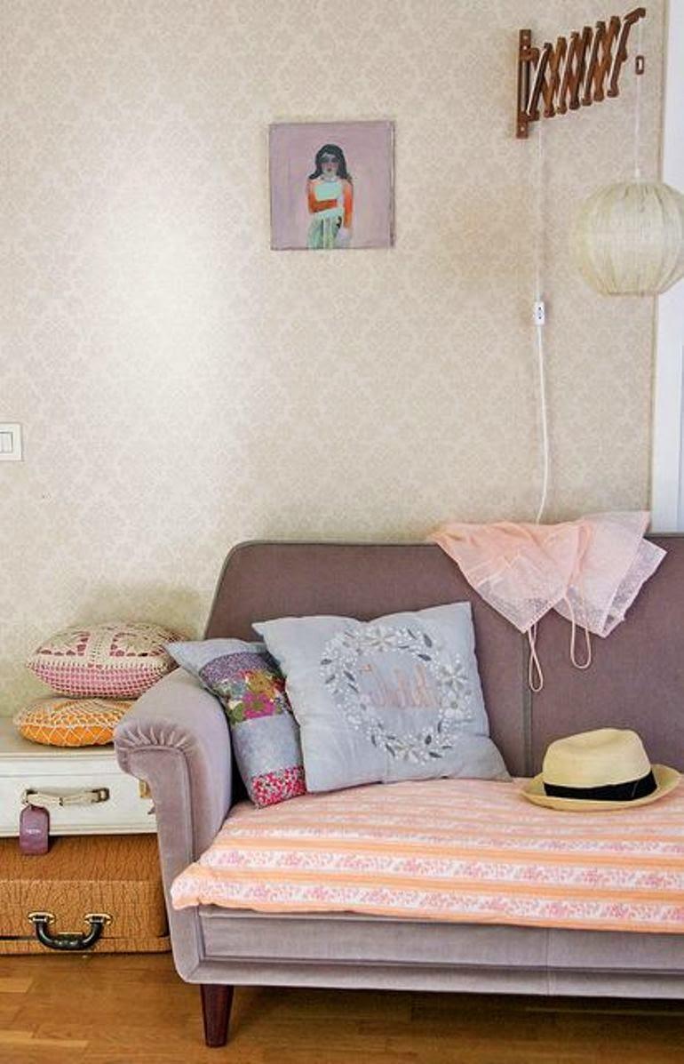 Ideas para cubrir un sof con estilo get the look - Ideas para tapizar un sofa ...