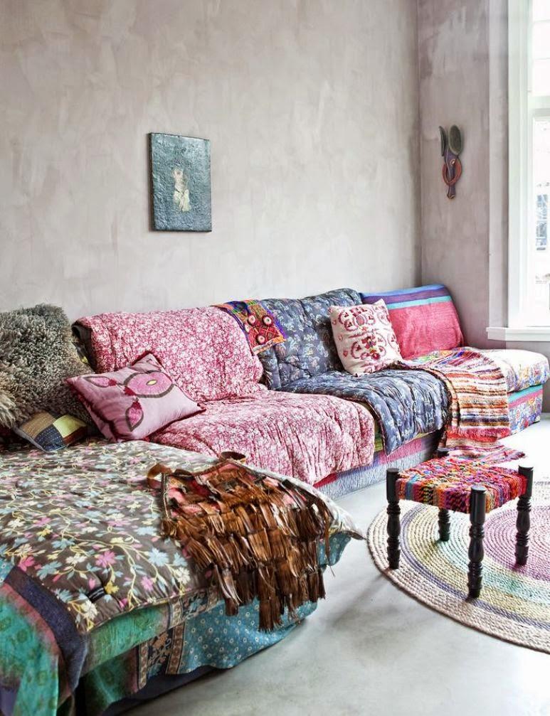 Ideas para cubrir un sof con estilo get the look for Telas para cubrir sofa