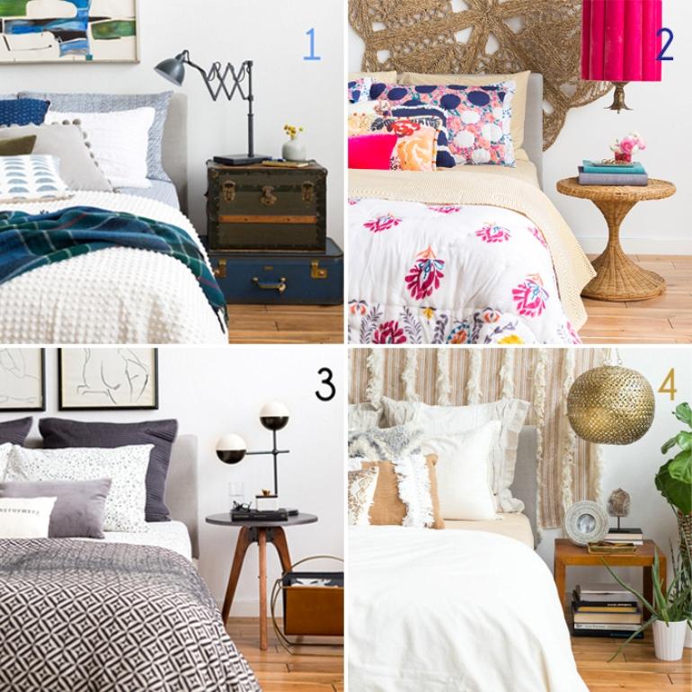 Como decorar una cama excellent cabecero con papel for Como decorar una cama