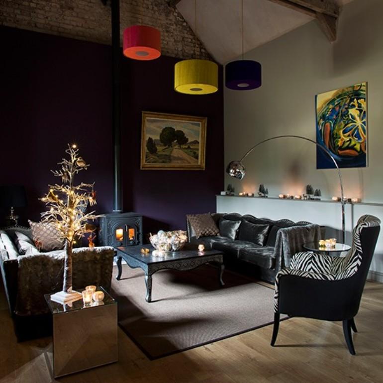 10 salones decorados para la navidad get the look - Salones decorados para navidad ...