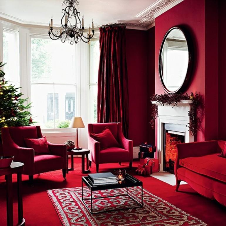 Salones decorados para navidad dise os arquitect nicos for Salones decorados para navidad