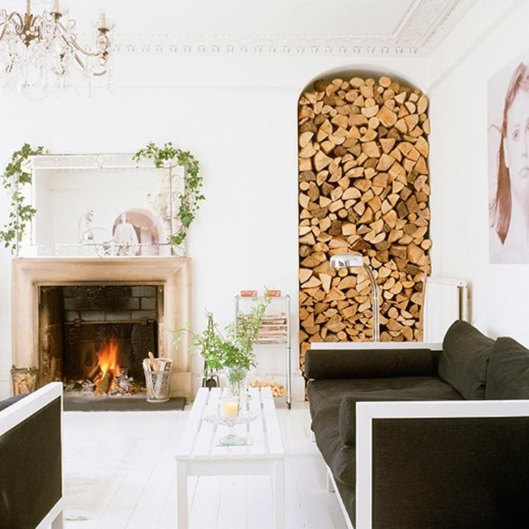 10 salones decorados para la navidad - Imagenes De Salones Decorados