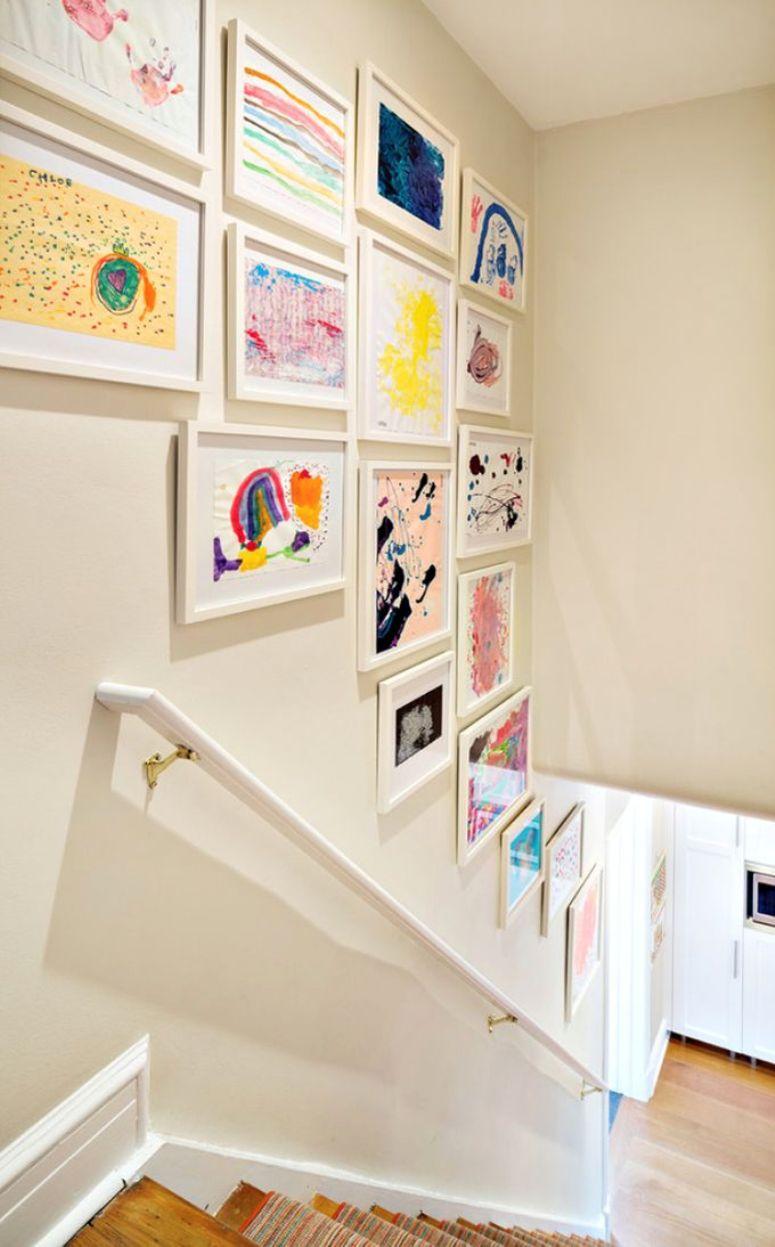Ideas para decorar paredes de escaleras - Como decorar paredes ...