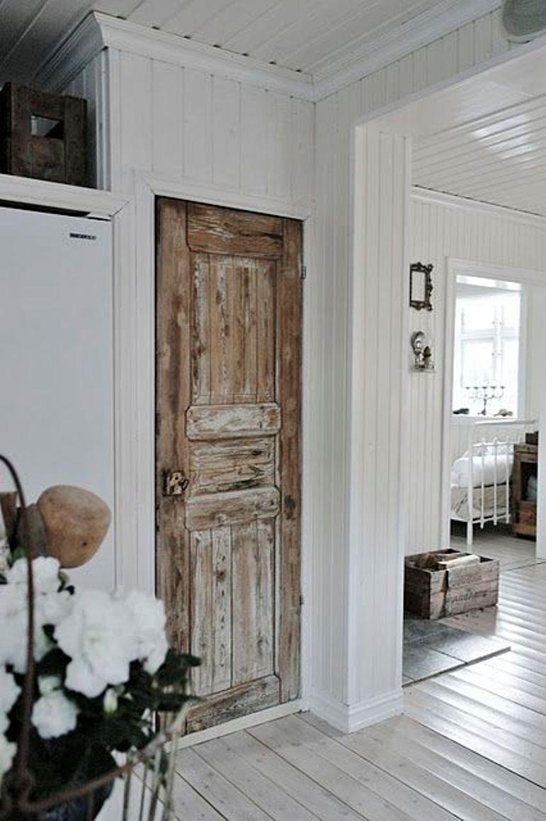 Renovar las puertas de casa con color get the look - Renovar puertas sapelly ...