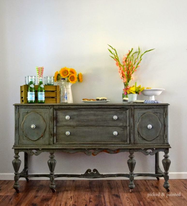 Artesanato Em Cobre ~ La versatilidad del aparador o buffet vintage Get the Look