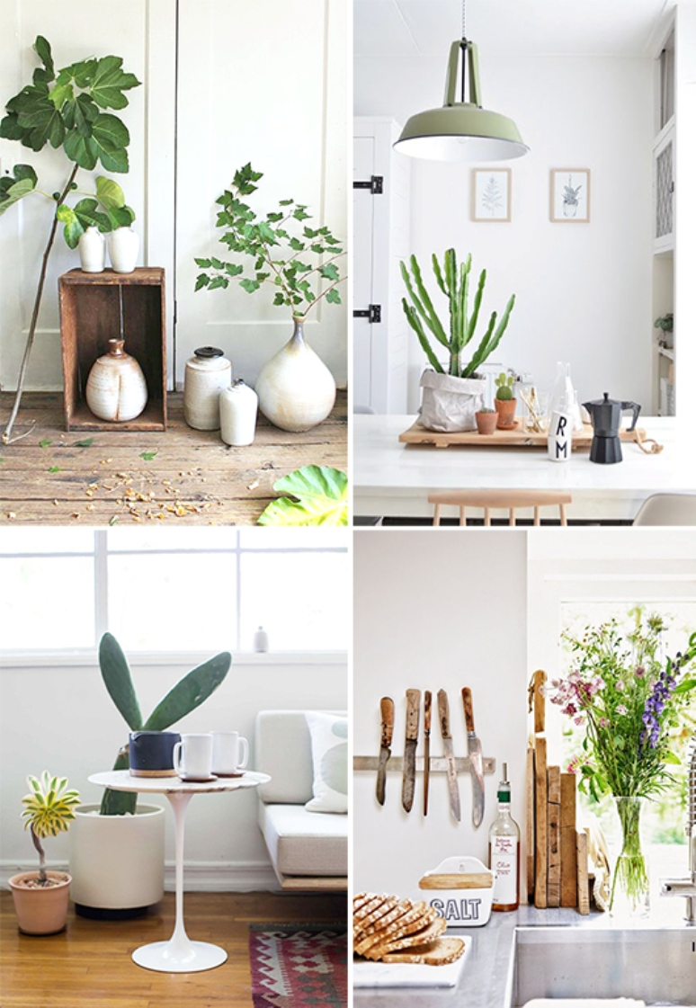 Inspiraci n para decorar con plantas get the look for Decoracion con plantas sinteticas