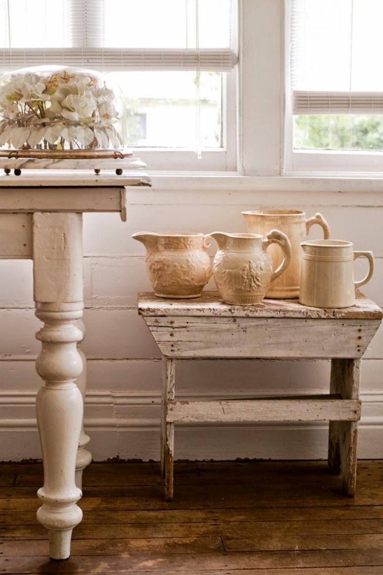 Una casa shabby chic en blanco get the look - Casas shabby chic ...