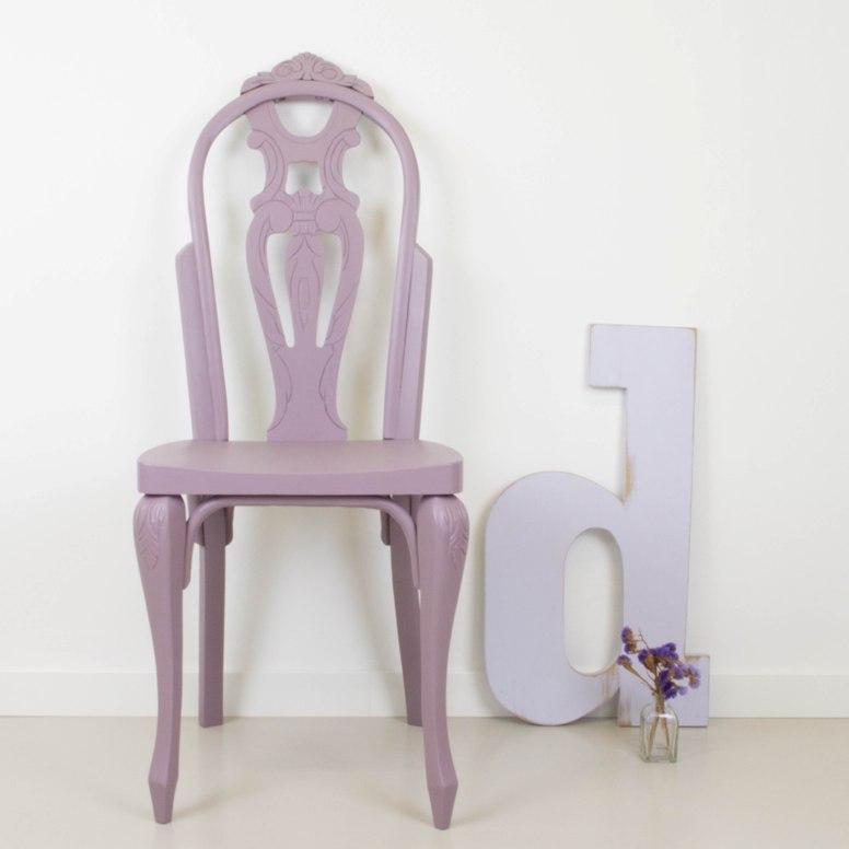 C mo transformar una silla cl sica en una bohemia y for Sillas clasicas segunda mano