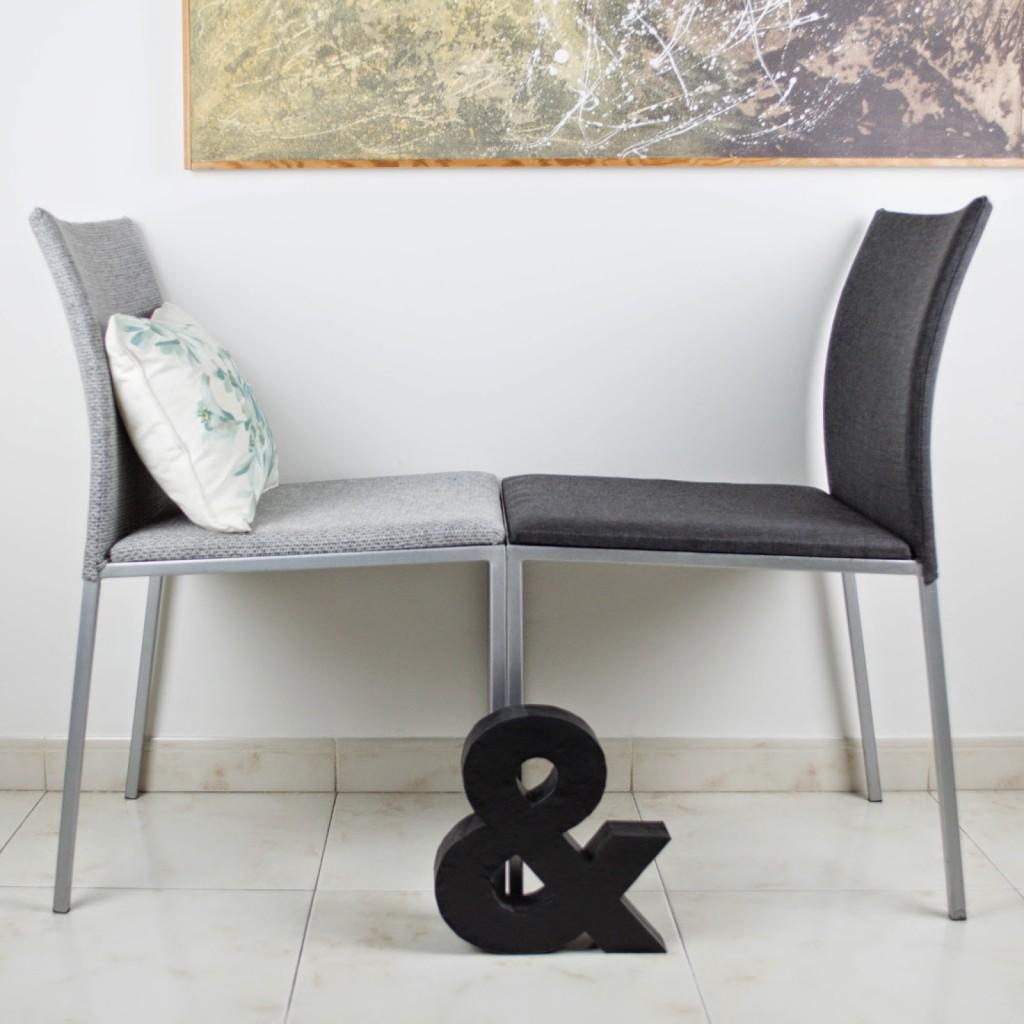 Como tapizar una silla redonda beautiful silla eames daw - Como tapizar sillas antiguas ...