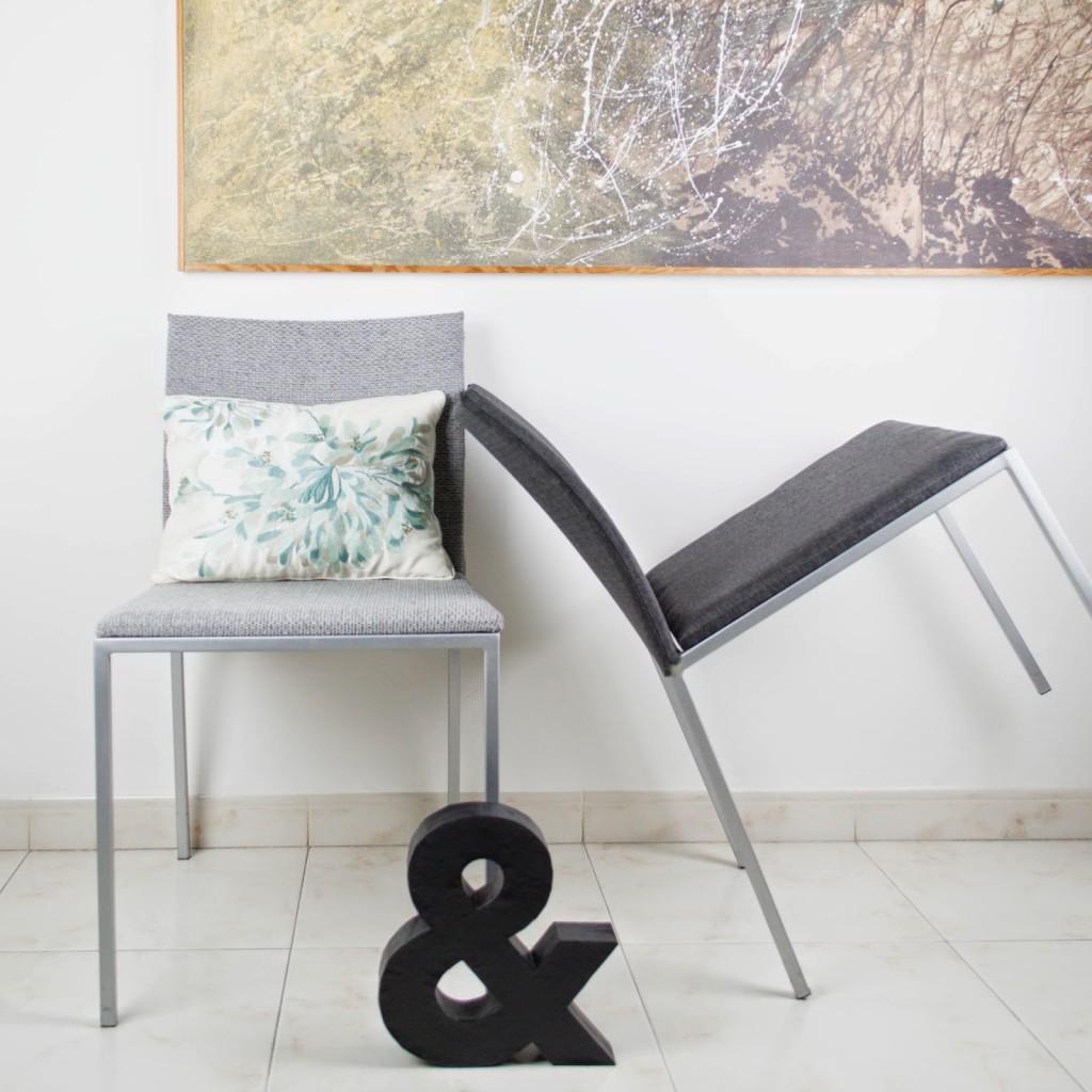 Cómo tapizar unas sillas modernas | En el taller de Antic&Chic