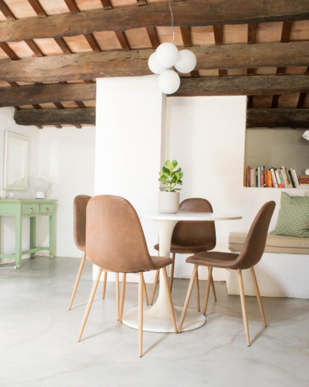 Un apartamento vacacional en el Empordà por | AnticChic | por Proyectos 218002