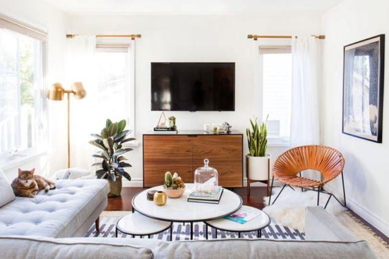 Cómo decorar la zona de la TV en el salón