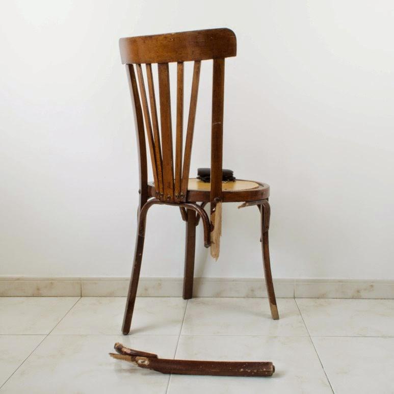 C mo reparar y cambiar el aspecto de una silla con la t cnica del deep dye en el taller de - Una silla para ...