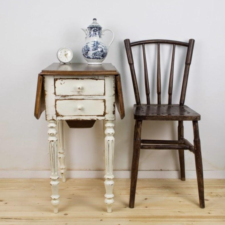 C mo transformar un mueble costurero en el taller de for Mueble costurero