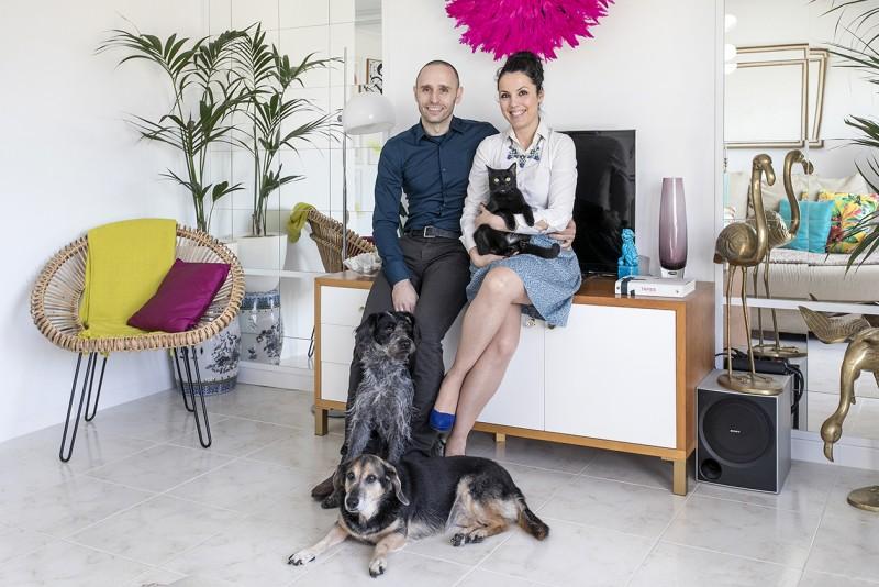 Houzz - En casa de... Marc&Cèlia: blogueros de Antic&Chic