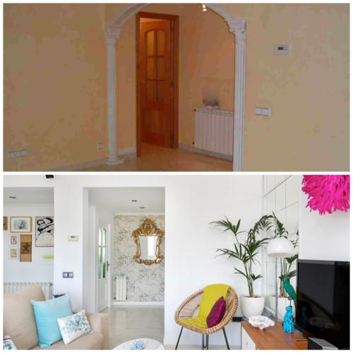 Houzz - Antes y después: La casa de Marc y Cèlia de Antic&Chic se transforma
