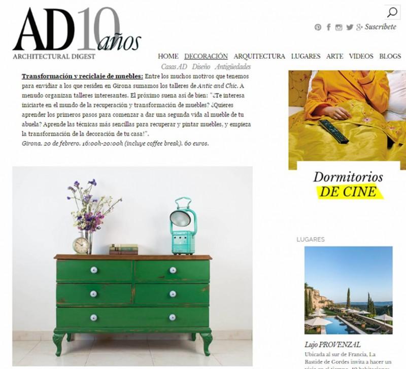 Revista AD - Pasar por el taller
