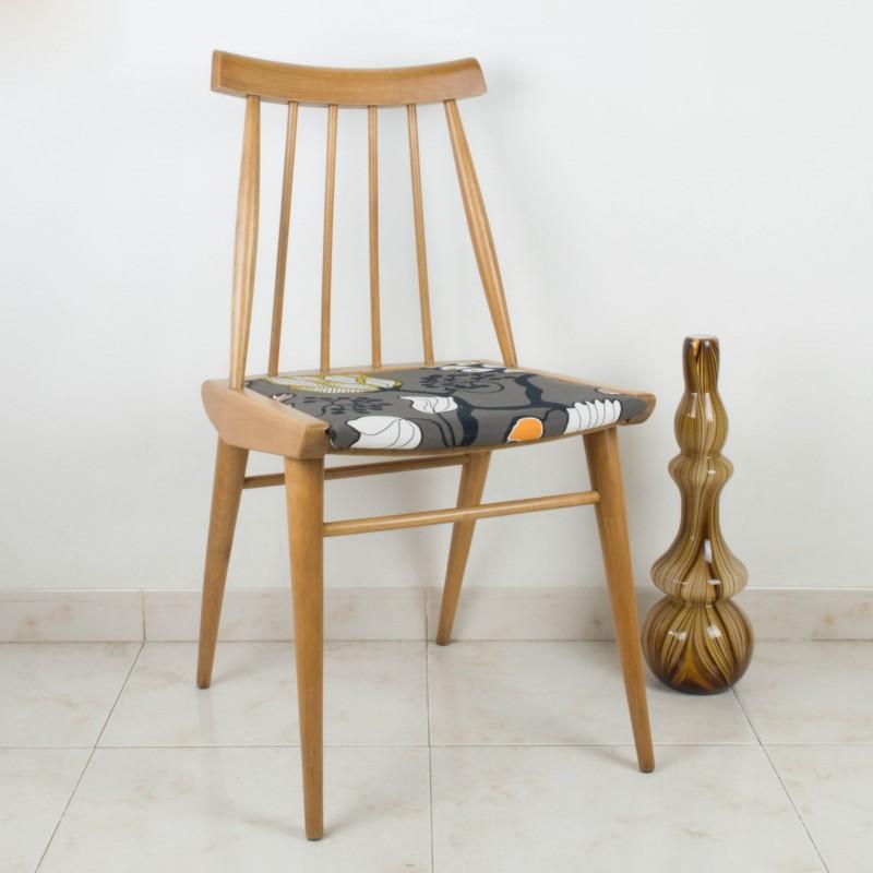 Silla estilo escandinavo patricia sillas muebles for Muebles escandinavos online
