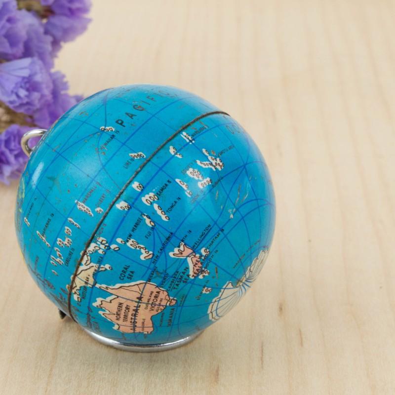 Llavero con forma de globo terr queo mapas y globos for Globo terraqueo decoracion