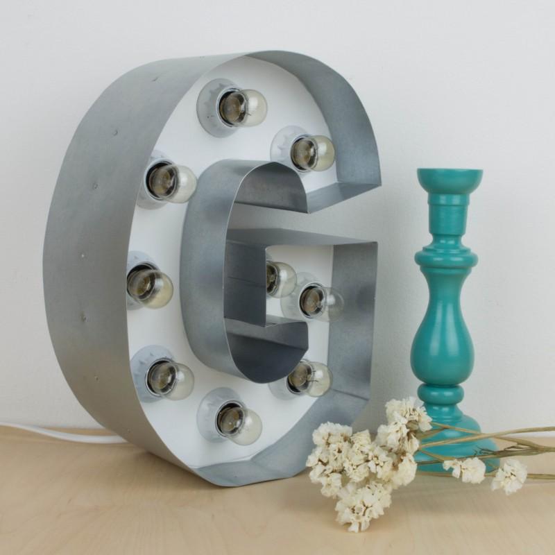 Letras de hierro decoracion del hogar Letras de hierro