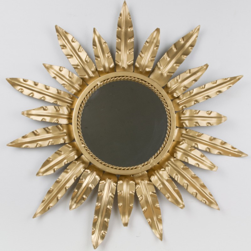 espejo sol redondo espejos objetos y decoraci n