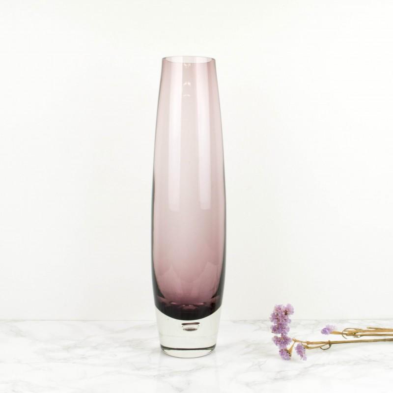 Jarr n sueco de cristal lila jarrones objetos y decoraci n for Jarron cristal decoracion