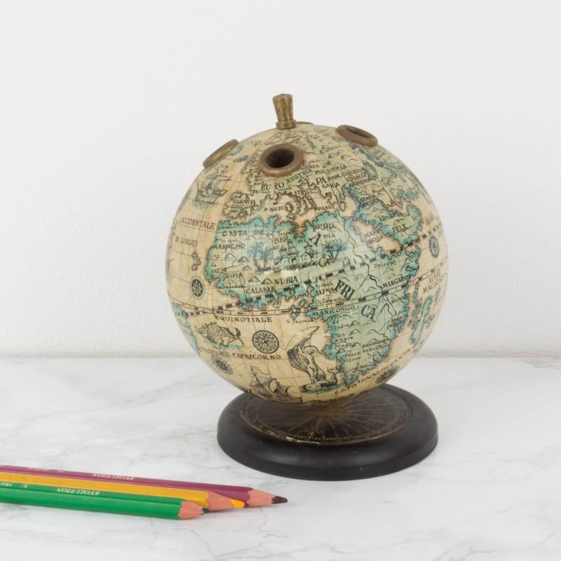 Lapicero con forma de bola del mundo mapas y globos - Bola del mundo decoracion ...