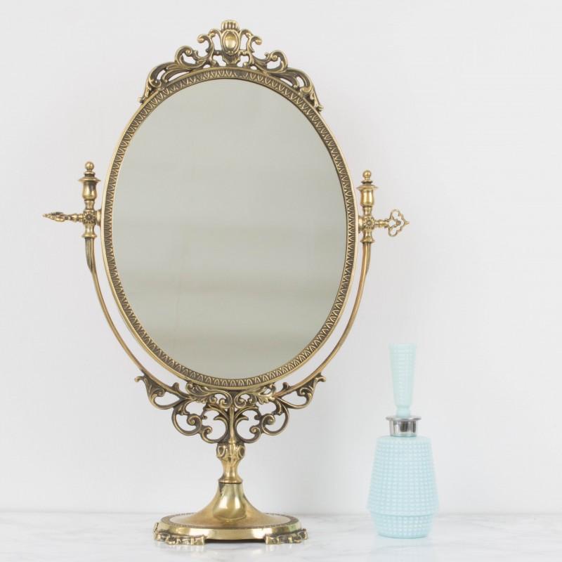 antiguo espejo de tocador espejos objetos y decoraci n